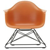 Vitra Eames LAR loungestoel, Rusty Orange