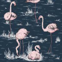 Cole & Son Flamingos behang