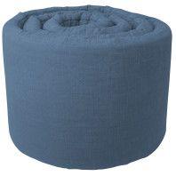 Sebra Outlet - Quilted bedbumper Royal Blue