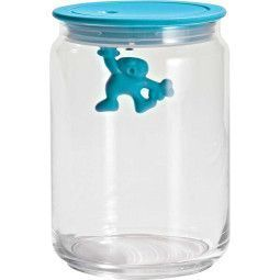 Alessi Gianni Glass Jar voorraadpot medium