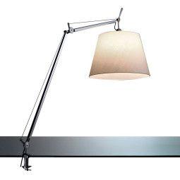 Artemide Tolomeo Mega Tavolo bureaulamp met aan-/uitschakelaar en tafelklem aluminium