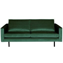 BePureHome Outlet - Rodeo Velvet bank 2,5-zits groen