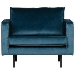 BePureHome Rodeo Velvet fauteuil
