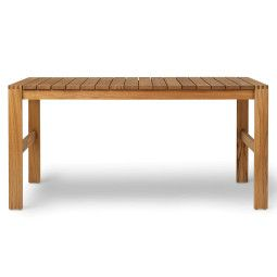 Carl Hansen & Son BK15 indoor-outdoor tafel 152x76