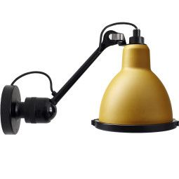 DCW éditions Lampe Gras N304 XL Outdoor Seaside wandlamp black