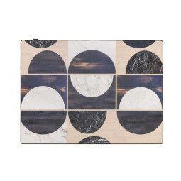 Tarkett Wood Cirkels vloerkleed vinyl 166x226