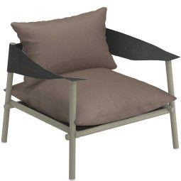Emu Terramare lounge fauteuil grijs/groen