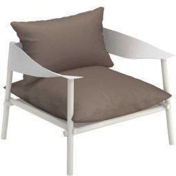 Emu Terramare lounge fauteuil matt white