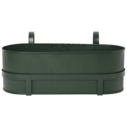 Ferm Living Outlet - Bau Balcony plantenbak dark green