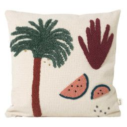 Ferm Living Palm kussen 40x40