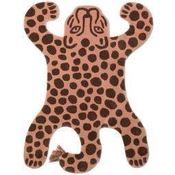 Ferm Living Safari leopard vloerkleed