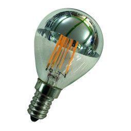 Flinders LED G45 E14 3W 2700K kopspiegel lichtbron Silver niet dimbaar