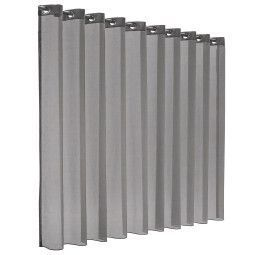 Flinders Sunrise gordijn - transparant - silver grey
