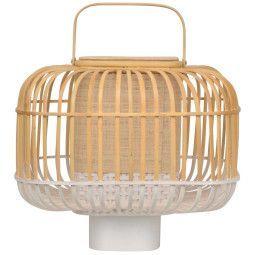 Forestier Bamboo square tafellamp small