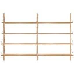 Frama Shelf Library H1148 Double wandkast
