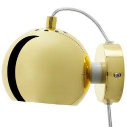 Frandsen Outlet - Ball wandlamp LED messing