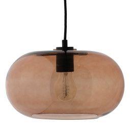 Frandsen Outlet - Kobe hanglamp brons met zwarte fitting