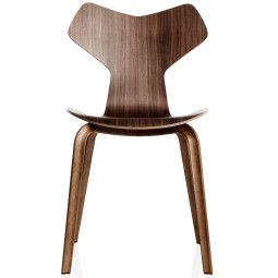 Fritz Hansen Grand Prix Chair Wood stoel naturel fineer