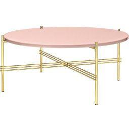 Gubi TS Table Glass salontafel 80cm