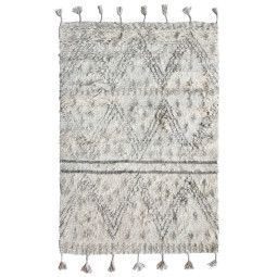 HKliving Handwoven Woolen Berber vloerkleed 120x180