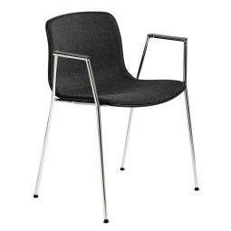 Hay AAC19 stoel met chroom onderstel