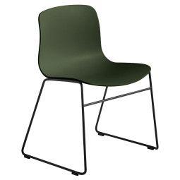 Hay About a Chair AAC08 stoel met zwart onderstel
