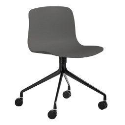 Hay About a Chair AAC14 stoel met zwart onderstel