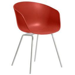 Hay About a Chair AAC26 stoel met wit onderstel