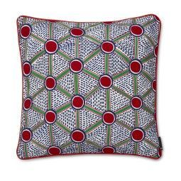 Hay Embroidered Cushion Cells kussen large 50x50