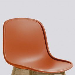Hay Neu 13 Chair stoel met zwart onderstel
