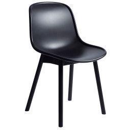 Hay Neu Chair stoel met zwart onderstel