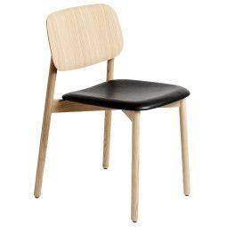 Hay Soft Edge Wood gestoffeerde stoel