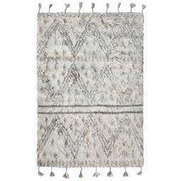 HKliving Handwoven Woolen Berber vloerkleed 180x280