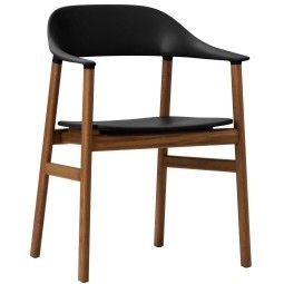 Normann Copenhagen Herit Armchair Smoked Oak stoel