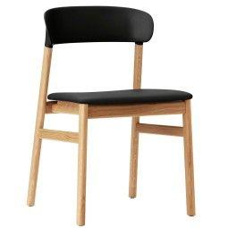 Normann Copenhagen Herit Oak stoel gestoffeerd