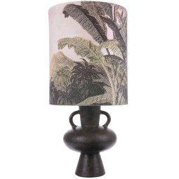 HKliving Stoneware tafellamp L