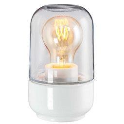 Ifö Electric Ohm 100/170 plafond-en wandlamp porselein IP44 helder