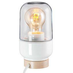 Ifö Electric Ohm 100/190 tafellamp porselein helder