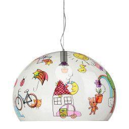 Kartell FL/Y Kids Tekening hanglamp small