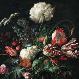 KEK Amsterdam Golden Age Flowers I behang
