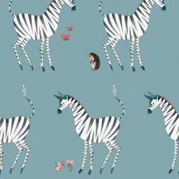 KEK Amsterdam Zebra behang