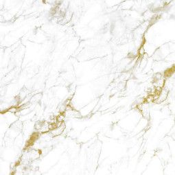 KEK Amsterdam Marble White Gold behang