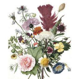 KEK Amsterdam Wild Flowers behangpaneel