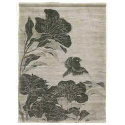 HKliving Linen Chart Floral wanddecoratie
