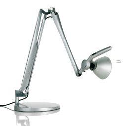 Luceplan Fortebraccio bureaulamp met dimmer metaal