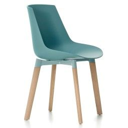 MDF Italia Flow Color Cross Oak stoel