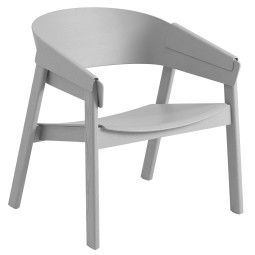 Muuto Cover Lounge chair grijs