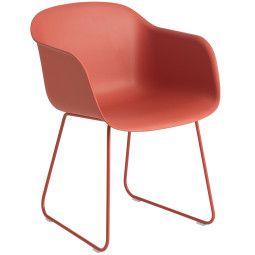 Muuto Fiber Sled stoel