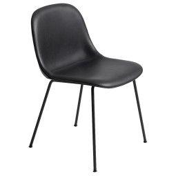 Muuto Fiber Side Tube gestoffeerde stoel