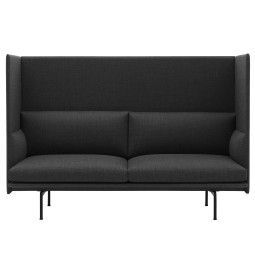 Muuto Outline Highback bank 2-zits